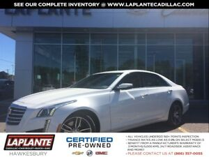 2017 Cadillac CTS Luxury + Sunroof + One Owner + LOW kms