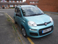 2016 (66) plate Fiat Panda 1.2 petrol ONLY 8700 MILES £30 tax year