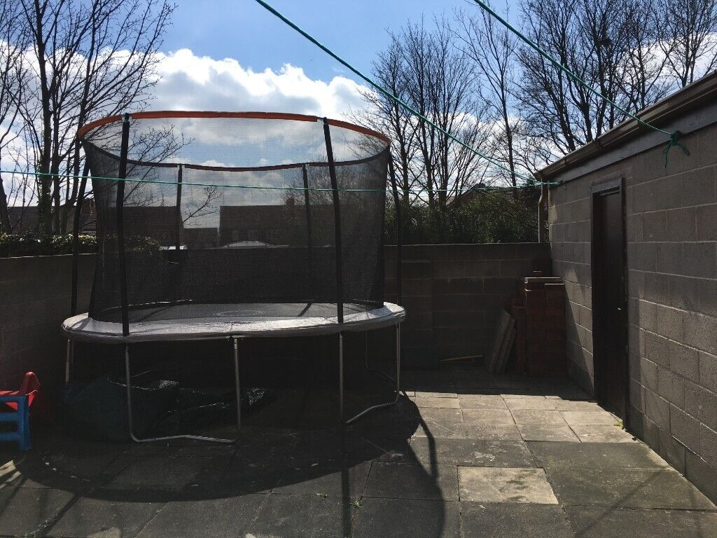 Sportspower 12ft Trampoline with Folding Enclosure | in Batley, West  Yorkshire | Gumtree