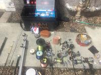 Sea Fishing Rods, Fishing Reels, Fishing Tackle & Deep Sea Weights & Gear