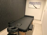 Sport massage by male therapist