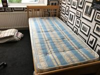 Wooden Single Bed For Sale