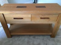 Solid Oak Dressing Table - Lee Longlands