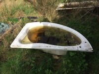 Used Bathtubs ideal for Gardening pond, Water tank etc.