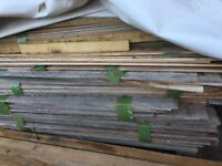 Oak shiplap wood for shed / garden firewood