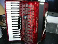 weltmeister 96 bass accordion lightweight model