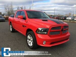 2016 Ram 1500 Sport **SUSPENSION A AIR + TOIT + GPS + WOW**
