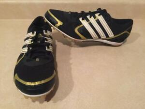 Mens Size 9 Adidas Cross Country Track   Field Sprint Running Spikes Shoes cea0eeed0