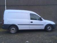 Vauxhall combo van 1.7td 2004