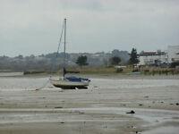 IN STORAGE - 26' Sailing Mast with Boom, main sail and jib sail