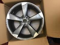 Audi 20 inch rotor wheel