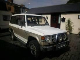 Mitsubishi Pajero exceed for sale