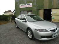 2007 MAZDA6 12 MONTHS MOT 1 OWNER FSH 6 SPEED MUST BE SEEN AND DRIVEN