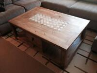 Santa Fe Solid Pine Coffee Table from The Brick