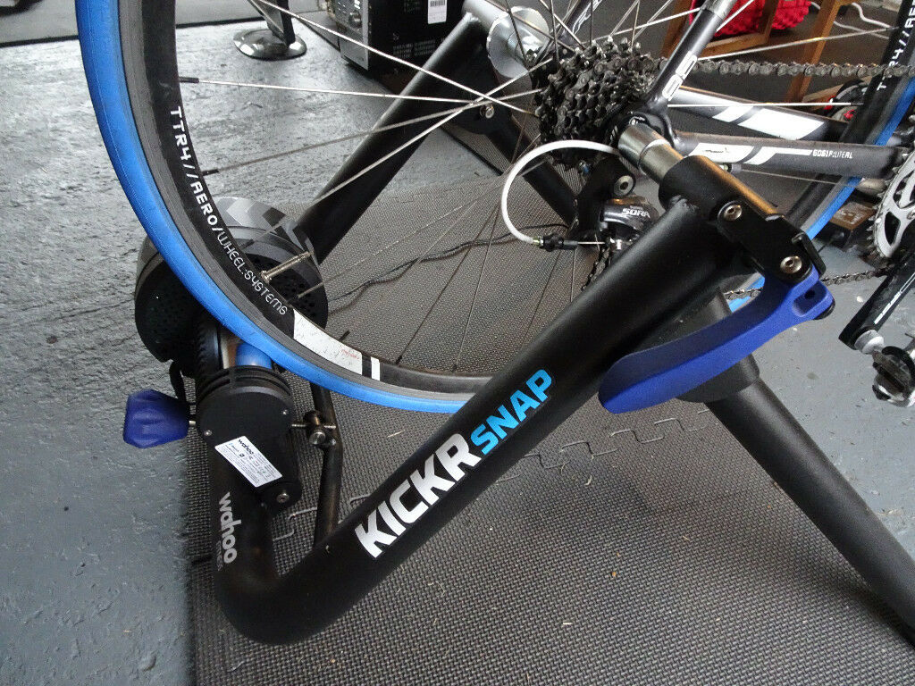 Boxed Wahoo Kickr Snap Smart Turbo Trainer Great for Zwift or Trainer Road  | in Pontypool, Torfaen | Gumtree
