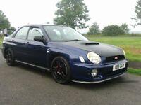 2001 Subaru impreza 2.0 GX 4 Dr in Blue loads of extras