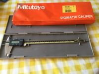 MITUTOYO 12 inch digital vernier calliper.Never used Supplied with plastic case