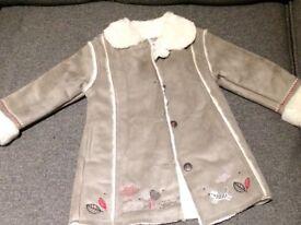 Double lined winter coat 12-18 months by La Compagnie des Petits