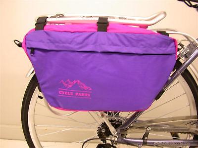 PQ Bike Underseat Bag Horizontal Mount
