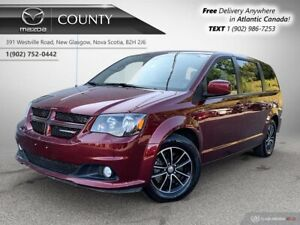 2018 Dodge Grand Caravan $94/WK+TAX! GT MODEL! LEATHER! 7 PASSEN