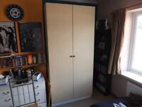Large Double Wardrobe with Beech doors
