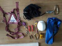 Ladder height safty kit