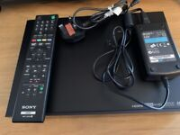 Sony SVR-HDT500B Freeview HD Personal Video Recorder 500GB with Twin Tuner
