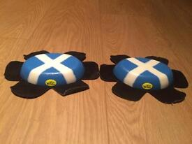 Wiz Scottish Knee sliders for motorcycles