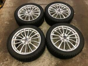 "17"" ADVANTI Wheels 5x112 and Winter Tire Package 225/45R17 (Mercedes, Volkswagen) Calgary Alberta Preview"