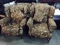 Fabric 2 11 sofa set as new
