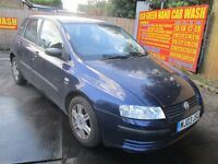2003 03 FIAT STILO 16V ACTIVE SPORT FULL MOT 10/17 ALLOYS AIR CON LOVELY DRIVE PX SWAPS WELLCOME