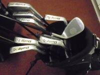 Left Handed Golf Set with Stand Bag. Dunlop 65i Graphite Set all you need to get started