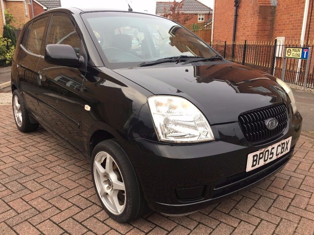 2005 kia picanto 1 0 lx 5 dr hatchback 12 month 39 s m o t bargain in kirkby in ashfield. Black Bedroom Furniture Sets. Home Design Ideas