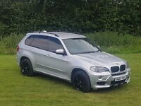 BMW X5 3.0d SE 2007 Facelift 7 seater Aero kit 77.000 miles only rear tvs ventilated seats