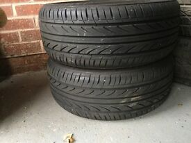 Landsail tyres x2 205/45/17 runflats