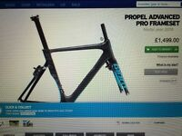 Giant Propel Advanced Pro Carbon Frameset (2016 model)