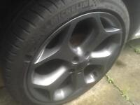"Genuine Ford Focus 18"" ST Alloy Wheels & Tryes suit Transit Connect/Mondeo"