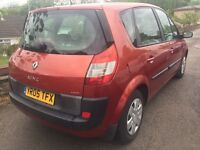 2005 RENAULT SCENIC 1.5DCI + FULL SERVICE HISTORY+LOW MILEAGE+HPI CLEAR
