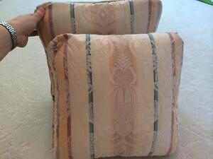 Two throw cushions