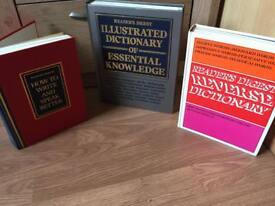 Books x 3