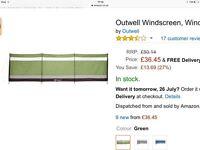 Outwell windbreak / windbreaker (brown/ natural)