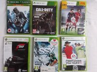 Xbox 360 six-game bundle