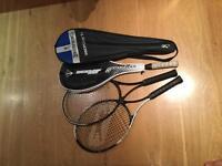 Tennis, squash, badminton racquets
