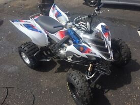 Yamaha Raptor 700R road legal