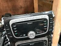 2012 ford galaxy CD player head unit