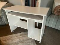 White Desk for Home (chair also optional)