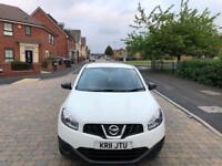 Nissan qashqai 1.6 petrol reg 2011 miles 79,000