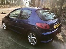 2003 PEUGEOT 206 XSI GREAT RUNNER MINT CONDITION BARGAIN!!