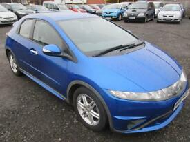 HONDA CIVIC 1.4 i-Dsi SE+ 5dr (blue) 2008