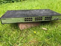 D-Link DGS-1224T 24 Port Switch